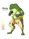 Gorg, the Frog of War by Gordofrog
