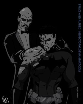 Bruce and Alfred by Inspector97