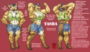 Tasha Turnaround by RickGriffin
