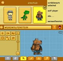 scribblenauts unlimited: wolf player by Catty-Mintgum