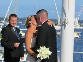 You may now kiss the bride by Commanding-photos