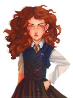 Hermione by sliiva