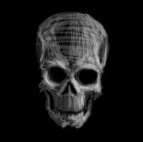 Skull speed paint by GrimShady