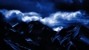 Dark Blue Mountains 03 by Limited-Vision-Stock