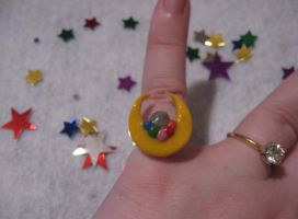 Crescent Moon Ring by tanytany