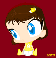 Lil baby Annebelle by cartoongirl211