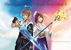 Final Fantasy X + HD + by Arlequinne
