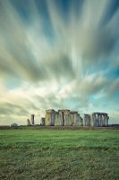 Stonehenge Sunset by PeteLatham