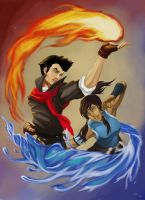 A Song of Water and Fire by Jie-Kageshinzo