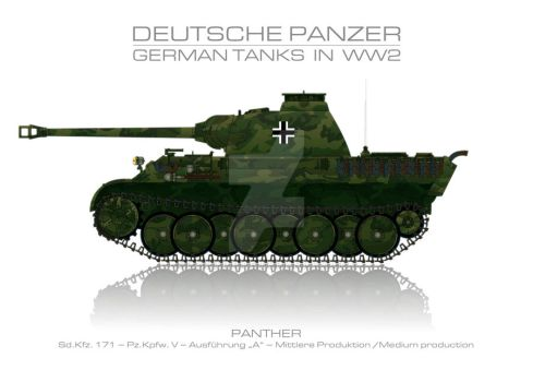 Sd. Kfz. 171 - German tank - Panzer by panzerblog