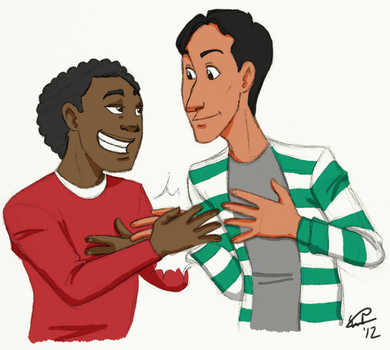 Troy and Abed by EndForEternity