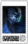 Sub Zero Postage Stamp by WOLFBLADE111