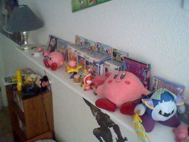 My Kirby Collection by MetaKnight2716