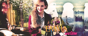 Emma Watson fb timeline cover by MyusaTeddy
