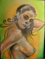 Day of the dead woman by Thenextyoshitaka