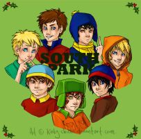 Merry South Park Christmas by Kinky-chichi