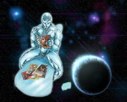 Silver Surfer - Calm by Absalom7