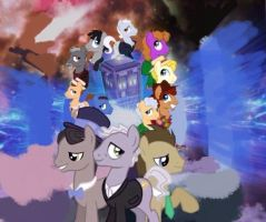 Doctor Whooves regenerations wallpaper by Lightflash119