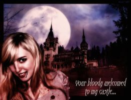 Your bloody welcomed by LuciaLacrimabundus