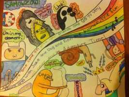 ~Adventure Time Collage~ by XxBlubehxX