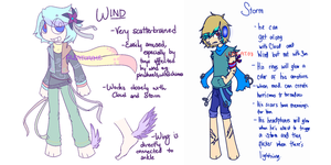 ADOPTABLES | Weather P2 [CLOSED] by Aleatoraye
