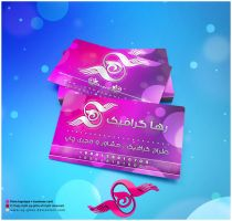 Raha business card by abgraph