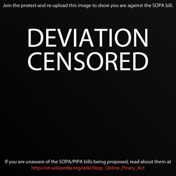 SAY NO!!!! TO   SOPA by kusanagisensei