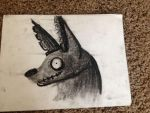 charcoal hnmgh by TheMaskedLuLu