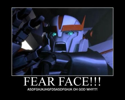 FEAR FACE by Mazula