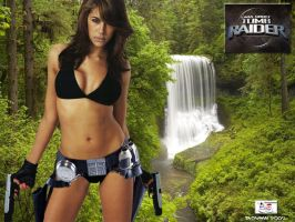 Lara Croft - Wet and Wild by TheSnowman10