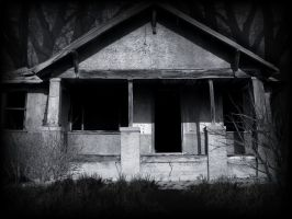 Creepy House stock by mysticmorning