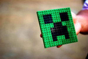 LEGO Creeper by caseycole11