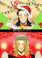 happy xmas n happy NY by youyanwuzhu