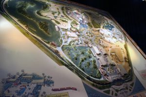 3D Map of Old Disneyland by DC-Mini