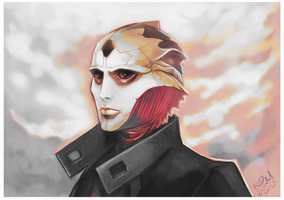 Thane by Linnpuzzle