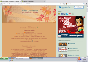Points Giveaway~ by baka-rika