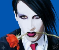 marilyn manson for rayray by cliffbuck