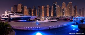 Yacht Club Panorama by VerticalDubai