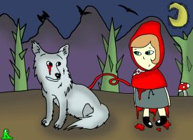 Red riding's hood blood supply by Evanescentgreen