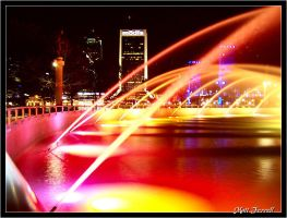 Downtown Jacksonville, FL by AnimaSoucoyant
