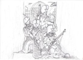 imperial guard vostroyans fineliner by savagehenry89
