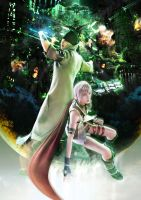 Final Fantasy XIII 5 by sassycerulean
