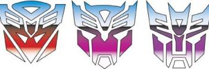 Transformers Mixed Sigils by andydiehl