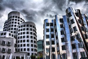 Frank Gehry Building - 1 by MajorDisaster