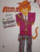 Heath Lynx A.K.A The Lynx, Primal Predator 2 by AwesomeLatinoArtist