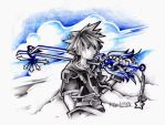 Sora and his Oathkeeper by kim-tram