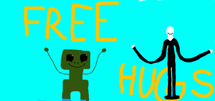 Draw This Again Meme! (Free Hugs?!) by brownbearsbetter