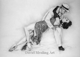 fred astaire and cyd charisse by Drawing-Dude-Dave