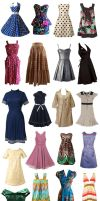 Retro dresses - part 2 by simplyuse