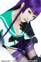 Saeko Busujima Cosplay by VampBeauty